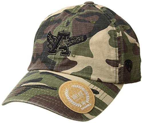 Top of the World NCAA Auburn Tigers Men's American Hero's Adjustable Icon Hat, Camo