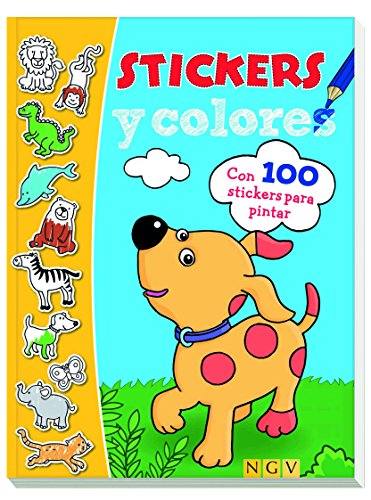 Animales. Stikers y colores (Stickers y colores)