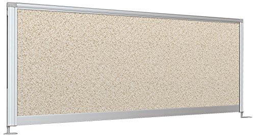 Balt Sichtschutz Panel Desktop, 58-inch Porzellan Kiesel, Vinyl 17
