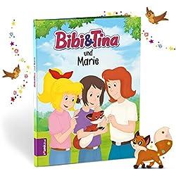 Bibi & Tina und ich – Buch zum Selbstgestalten von Framily. Personalisiertes Bibi & Tina Buch für Kinder – personalisiertes Geschenk für jeden Anlass. Personalisierte Kinderbücher - besondere Geschenke