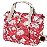 Basil Schultertasche Magnolia Shopper 18L Poppy red Fahrrad Tasche + Flicken