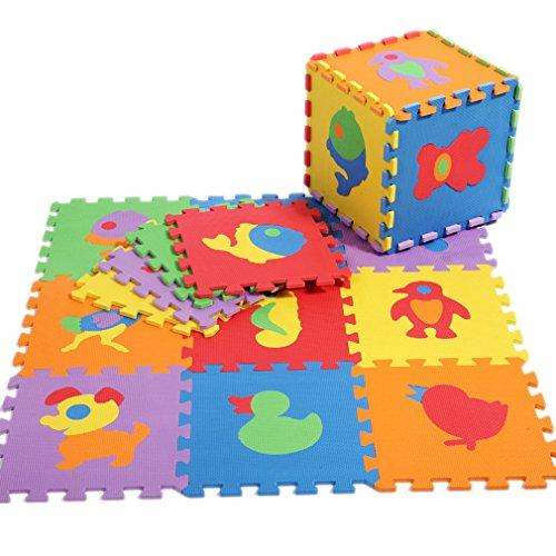 Puzzle suelo bebe de Juegos Para Niños Bebés Puzzle con 10 Piezas Mu