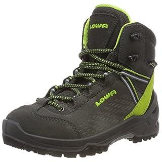 Lowa Unisex-Kinder Arco GTX Mid Ju Trekking- & Wanderstiefel, Grau (Navy/hellblau 9702), 35 EU