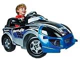 Auto elettrica per bambini con convertibili di sport design originale. Funziona con motore e A103 6V. Ha il piede dell'acceleratore e freno elettrico. Con commutatore per avanti e indietro. Può raggiungere una velocità massima di 2,2 km all'o...