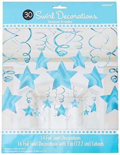 Amscan International-674474-54nuevo rosa Swirl Kit de decoración