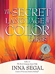Secret Language of Color Cards: 45 full colour cards and guidebook by Inna Segal (2011) Cards