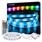 LED Strip Lichterkette, Govee 5m RGB Farbänderung LED...