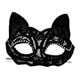 KEFAN Masquerade Mask Costume Party Halloween Carnival Sexy Masque pour les yeux de chat