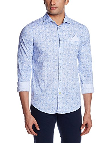 GAS Men's Casual Shirt (8056775039549_85005989_X-Large_Atlantic Deep)  available at amazon for Rs.2695