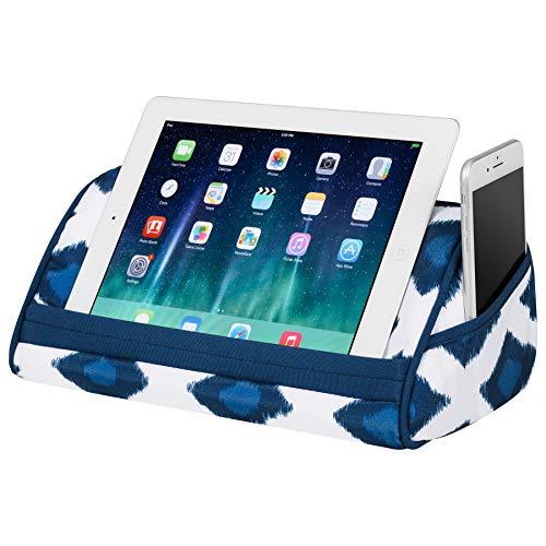 Preisvergleich Produktbild LapGear 35512 Designer Tablet Kissen Aqua Spalier Navy Ikat