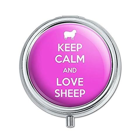 Agneau Purse - Keep Calm and Love Mouton Agneau pilule