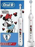 Oral-B Junior Cocuklar Icin Şarj Edilebilir Diş Fırçası Minnie (6+ Yaş), Beyaz