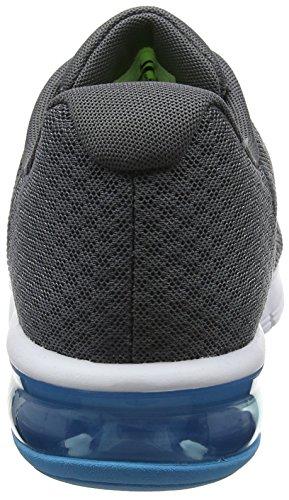Nike Air Max Sequent 2, Scarpe da Ginnastica Uomo Grigio (Grisfoncé/noir/discret/argentmétallique)