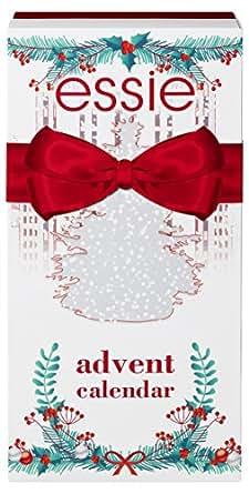 Essie Collezione Edizione Limitata Natale Idea Regalo di Natale Il Calendario dell'Avvento con 24 Sosprese Tutte Firmate Essie