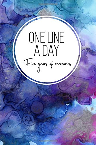 One Line a Day, Five Years of Memories: Blue Marble Ink, A Five Year Memoir, 6x9 Dated and Lined Diary (One Line a Day: a Five Year Memory Book)