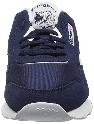 Reebok Classic R13, Sneakers Basses Homme Bleu (Collegiate Navy/White)