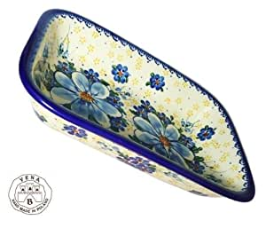 Hand Painted Ceramic Lasagne Baking Dish 180-A-064