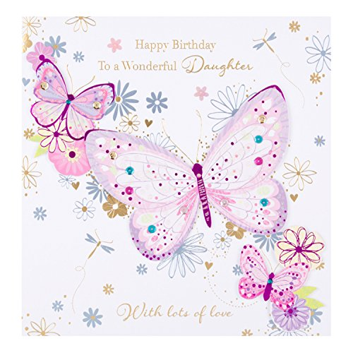 Descargar Pdf Hallmark Ling Daughter Birthday Card Lots Of Love