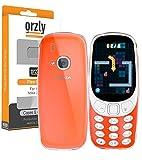 Funda para el Nuevo Nokia 3310, FlexiCase de Orzly para el Nuevo Nokia 3310 (Versión 2017) – TRANSPARENTE – Carcasa Suave, Flexible y Duradera [Anti-Arañazos] para el Nuevo [Reinterpretación] Nokia 3310