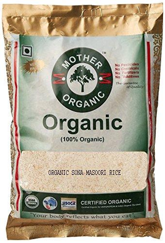 Mother Organic Sona Masoori Rice, 1kg