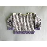 Jersey para bebé de crochet hecho ...