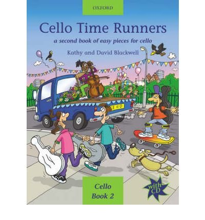 [(Cello Time Runners + CD: A Second Book of Easy Pieces for Cello)] [Author: Kathy Blackwell] published on (January, 2003)