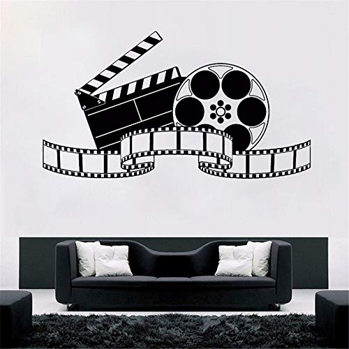 Cchpfcc Wandtattoo Filmkunst Film Wandaufkleber Kino Dekoration Modernes Design Filmtapete Film Filmshow Fototapeten