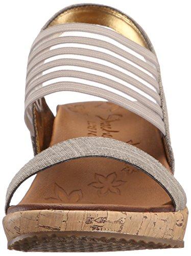 Sandali e infradito per le donne, colore Bianco sporco , marca SKECHERS, modello Sandali E Infradito Per Le Donne SKECHERS 38527S Bianco Sporco Bianco sporco
