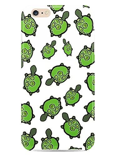 Schildkröte grün alle über Süße Tier Fall Kunststoff Cover mit Muster für Apple iPhone Design by weareluxuryhunters iPhone 6und 6S (Schildkröte Case Iphone6)