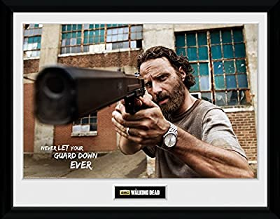 GB Eye LTD, The Walking Dead, Rick Gun, Photographie encadrée 30 x 40 cm