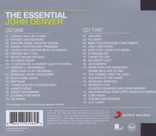 The Essential John Denver [2 CD]