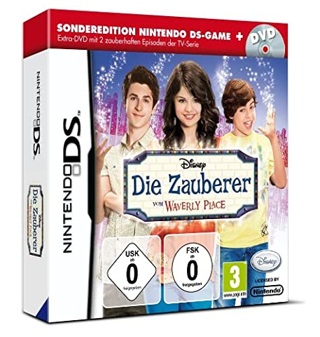 Zauberer vom Waverly Place + DVD mit 2 Episoden der TV-Serie [German Version]