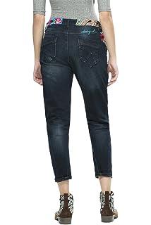 Desigual Womens Irene Denim Long Trouser