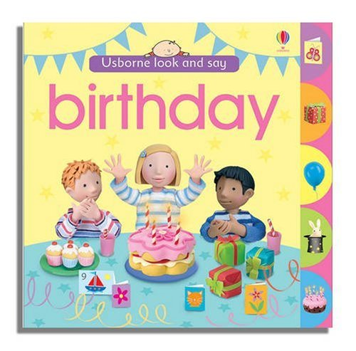 Usborne Look and Say Birthday PDF Books