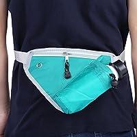 Shuzhen,Bolsa de Cintura de triángulo portátil al Aire Libre Multifuncional(Color:Verde)