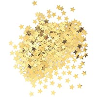 Unique Party Confetti con Forma de Estrella, Color Oro (90350)