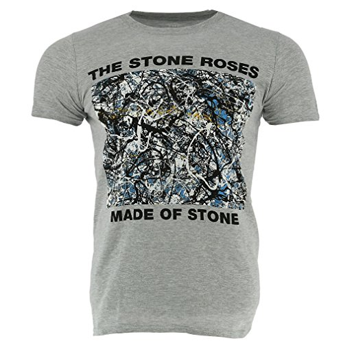 Men's Made of Stone Grey T-shirt, Licensed, Grey - S to XXL