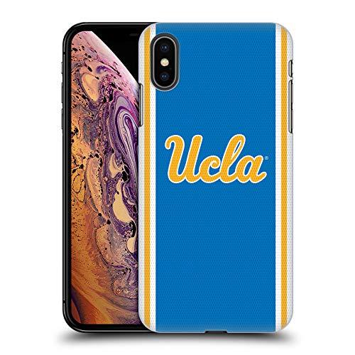 Head Case Designs Offizielle University of California UCLA Fußball Jersey Harte Rueckseiten Huelle kompatibel mit iPhone XS Max Ucla Jersey