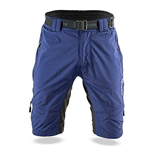 SILVINI Herren Rango Shorts, Navy-Lime, M