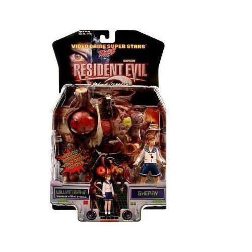 Resident Evil 2 William Birkin and Sherry Action Figures by Resident Evil