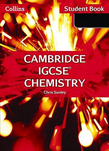 By Chris Sunley Collins Cambridge IGCSE - Cambridge IGCSE Chemistry Student Book (Second 2nd Edition) [Paperback]