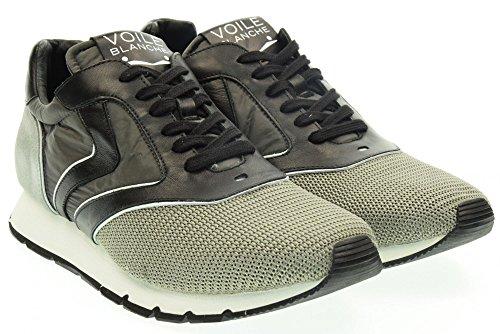 VOILE BLANCHE uomo sneakers basse LIAM EASY grigio Grigio-Nero