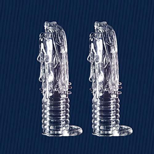 Neueste wiederverwendbare Penis Sleeve Dragon Cock Ring Ärmel Penis Extender Verzögerung Spray Verzögerung Kondome Sex Toys Sex Produkte für Männer