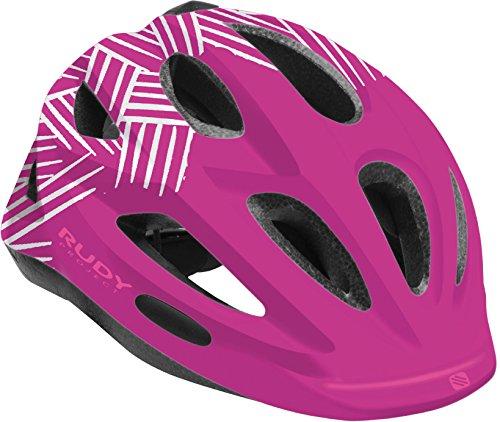 Rudy Project Rocky Helmet Purple-White Shiny 2018 Fahrradhelm