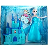IndusBay Frozen Small Doll Anna Snow Castle Playset for Girls