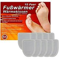M&H-24 Fußwärmer Zehenwärmer Pads Wärmekissen für Schuhe, Schuh Wärmepads für warme Zehen und Füße, Dünne Heiz-Pads passend für alle Schuhe, 5/10/20/30 Paar