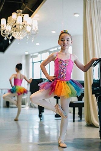 Pegasus galaxy Girl 's Tüll Ballett Dance Kostüm bunt Tutu Kleid Gr. XXL, (Galaxy Girl Kostüm)