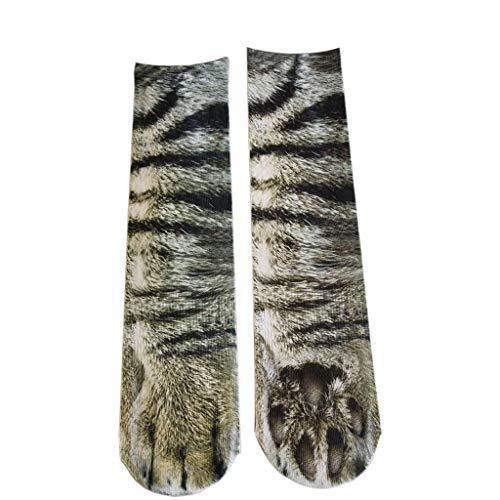 XuxMim Animal Paw Socks Paw Print 3D Socken -