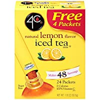 4C Totally Light Iced Tea - Lemon - 20 stix, 1.49 oz (Pack of 1)