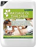 Massageöl Thai Sabai 10 Liter MyThaiMassage Premium Soft Neutral & Hautpflege mit wertvollen Jojobaöl & Mandelöl